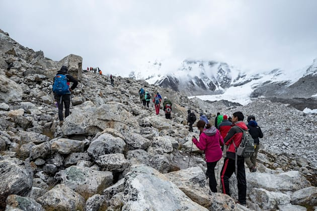 Nepal has been struggling to get climbers, vital for its tourism industry, back to the region since a...
