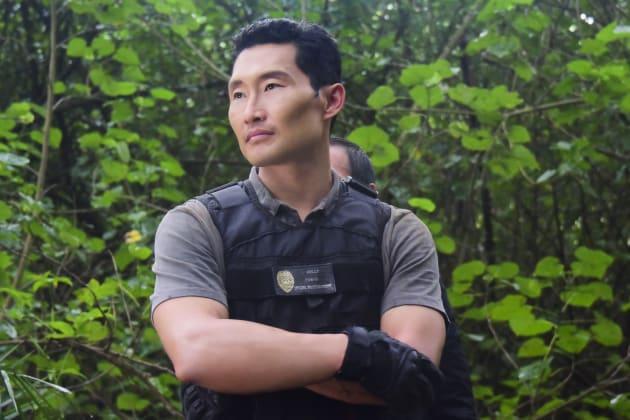 Daniel Dae Kim as Chin Ho Kelly. (Photo by Norman Shapiro/CBS via Getty