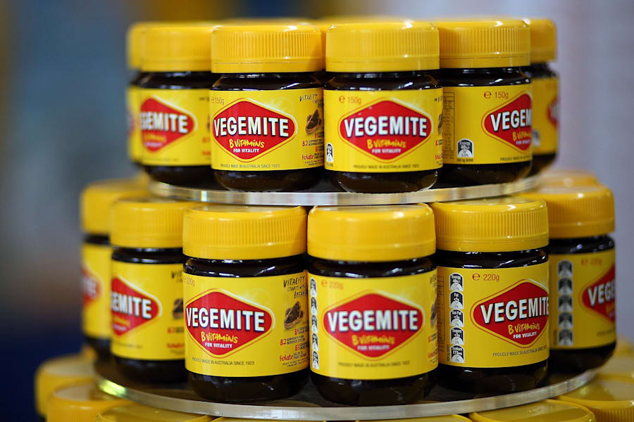 The idea for Vegemite was sparked in