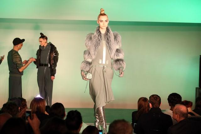 Jean Paul Gaultier : Runway - Paris Fashion Week Womenswear Fall/Winter 2014-2015