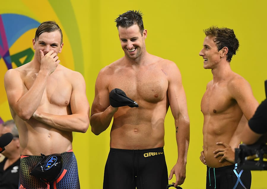 James Magnussen and friends are no longer on the nose with the Australian