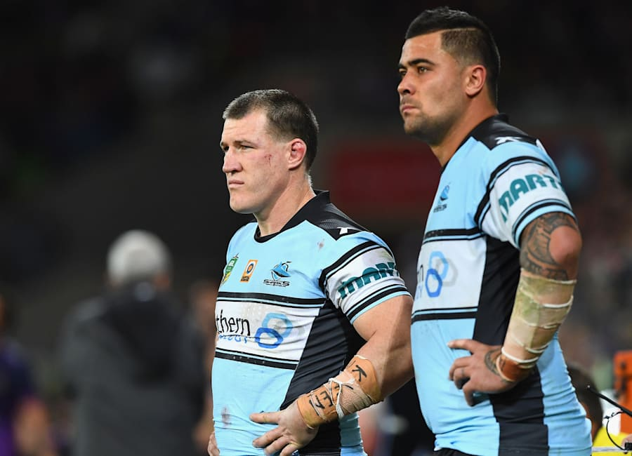 Lovely blokes. That's Gallen on the left, Fifita on the
