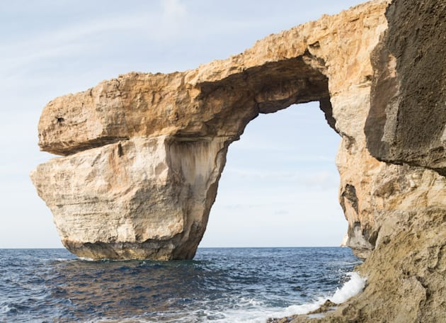 Before the collapse: the Azure Window in its