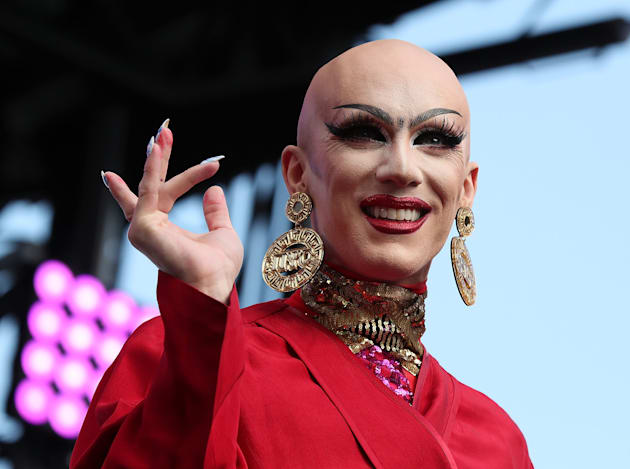 Sasha Velour performs at the 2017 Capital Pride Concert on June 11, 2017 in Washington,