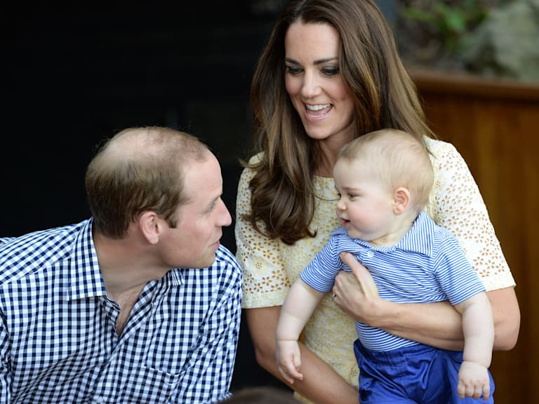 Prince George's day at the zoo