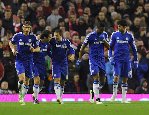 Liverpool v Chelsea - Capital One Cup Semi-Final: First Leg