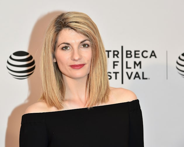 Actress Jodie Whittaker during the 2016 Tribeca Film Festival on April 17, 2016 in New York