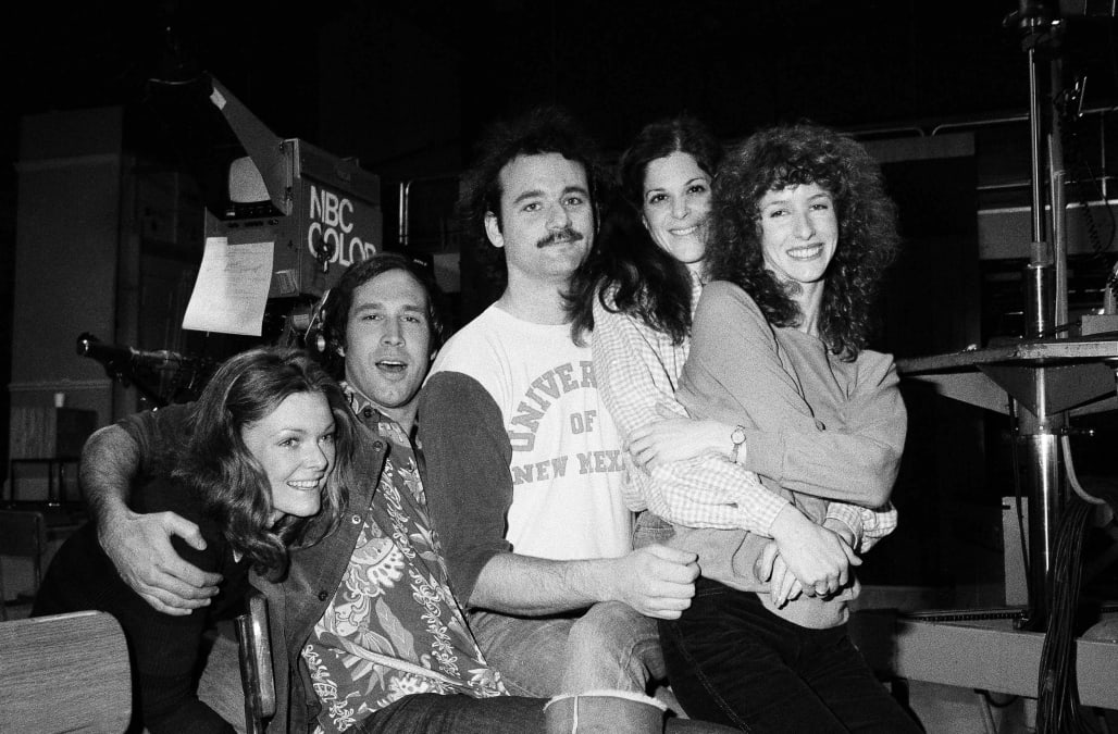 AP - Chevy Chase Reunited With SNL Cast 1978