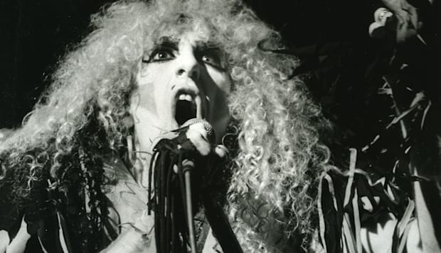 TWISTED SISTER - US rock group with Dee Snider in 1984. Photo Stephen Woodd