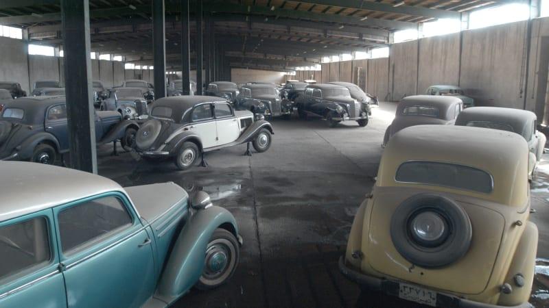 Last Shah's cars