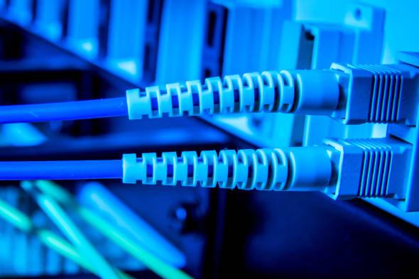 optic fiber hub as part of...