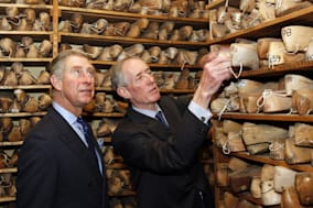 Prince of Wales visits retail market