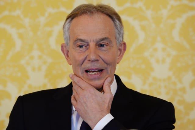 Blair possible return to frontline politics
