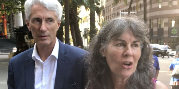 Anthony and Chrissie Foster say they are disgusted by the Catholic Church's response to sex abuse
