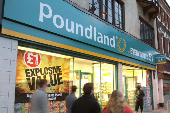 Poundland stock market float