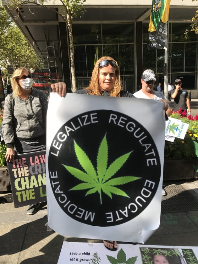 Katrina Mosley wants easier access to locally supplied medical cannabis oil to treat her daughter,