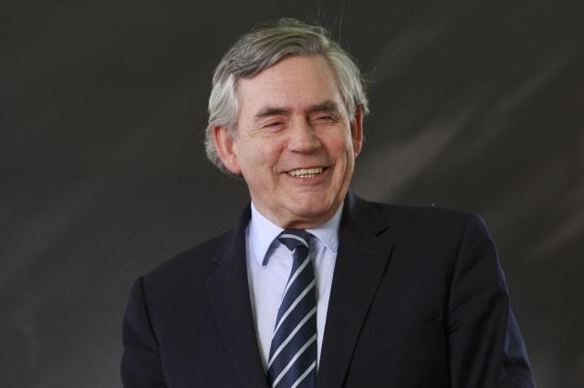Gordon Brown Attends 2016 Edinburgh International Book Festival