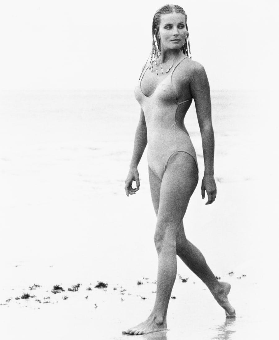 Actress Bo Derek as Samantha Taylor in the 1979 movie