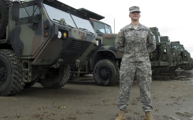 First Woman Combat Engineer