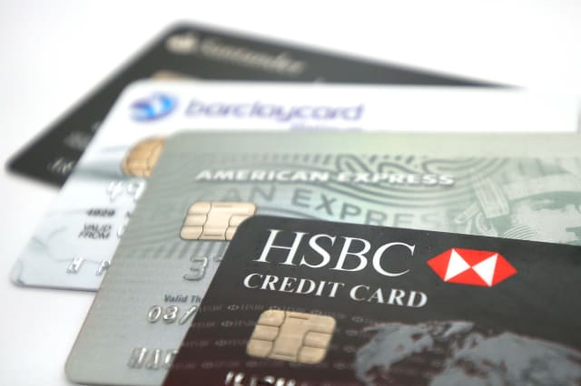 Credit card borrowing