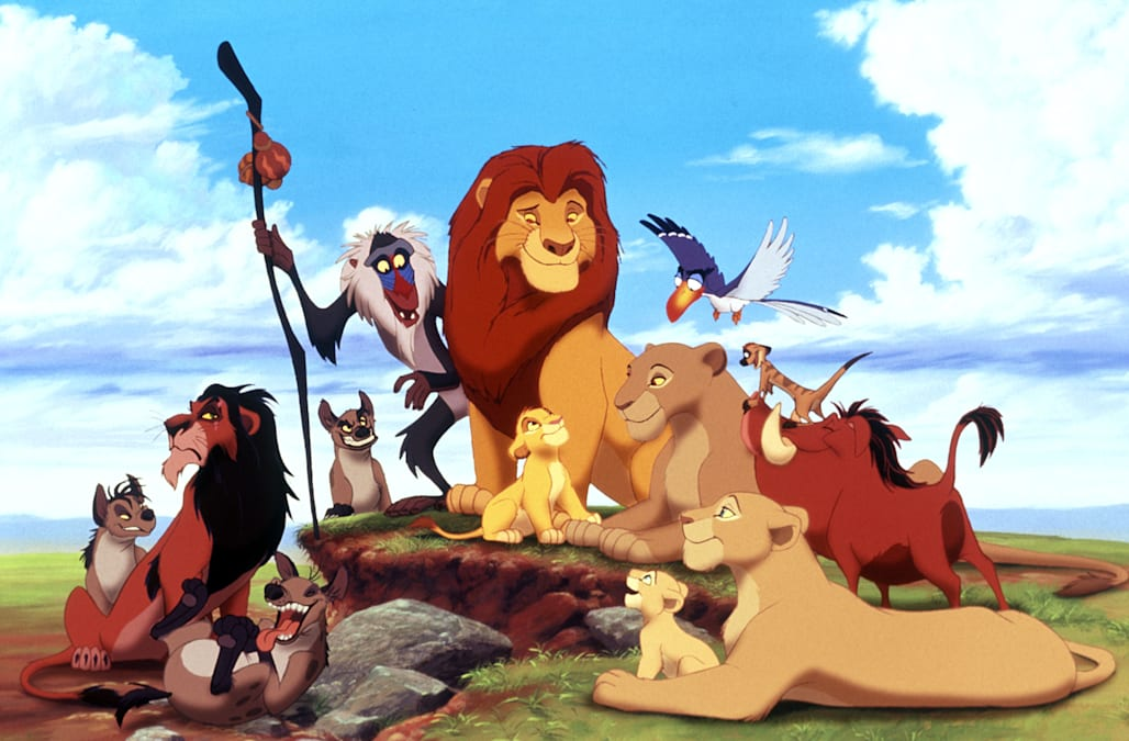 ED SHENZI BANZAI SCAR MAFUSA SIMBA TIMON & PUMBAA THE LION KING (1994)