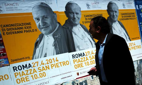 ITALY-VATICAN-CANONIZATION