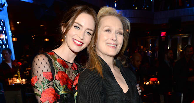 Julie Andrews reveals her thoughts on Emily Blunt playing Mary Poppins