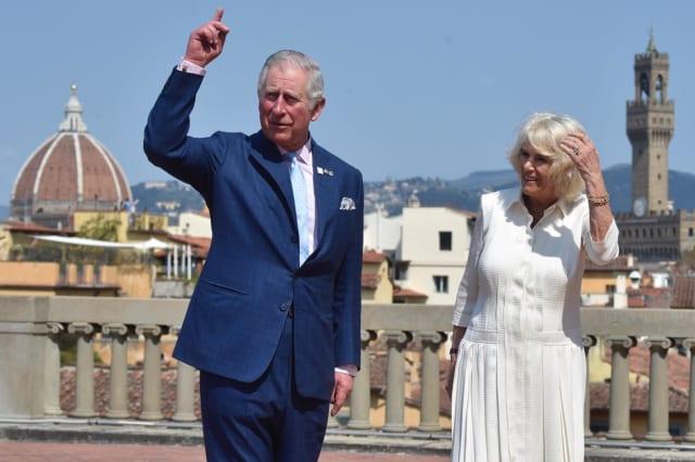 Italy Royal Tour to Europe