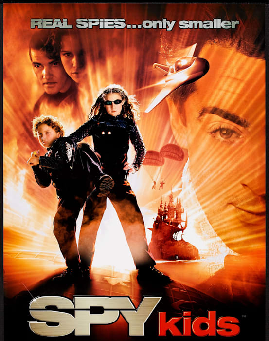 Movie Poster For 'Spy Kids'