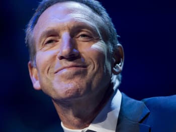 Starbucks CEO Schultz Keynote And Interview At ICI Conference