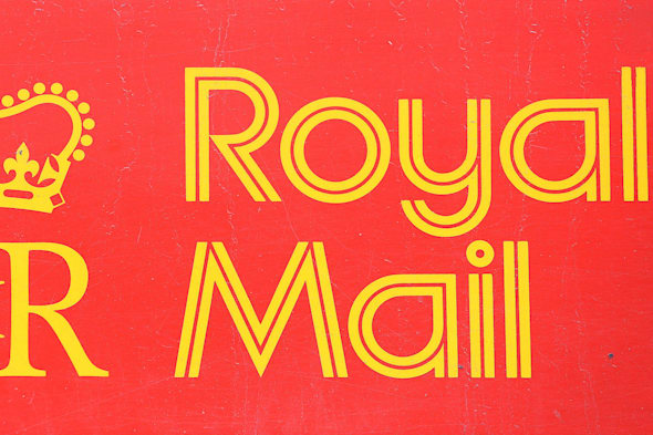 File photo dated 04/04/13 of a Royal Mail sign.  Royal Mail is consulting on plans to cut 1,600 jobs, the company has said. PRESS ASSOCIATION Photo. Issue date: Tuesday March 25, 2014. See PA story INDUSTRY Mail. Photo credit should read: Lewis Stickley/PA Wire