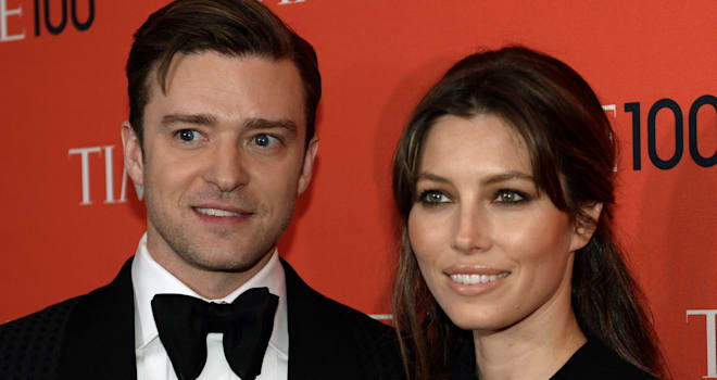 Justin Timberlake and Jessica Biel at the 2013 TIME 100 GALA