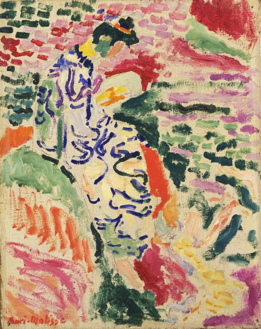 Henri Matisse's 'La Japonaise: Woman beside the Water',