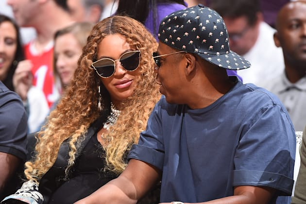 Beyonce and Rapper, Jay
