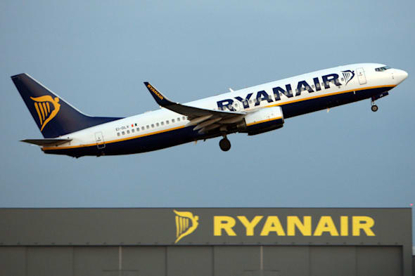 File photo dated 31/03/09 of a Ryanair jet taking off from Stansted Airport. Air passengers will be hit by a decision today to alter what airlines can be charged for using one of the UK's busiest airports, according to the low-cost airline Ryanair. PRESS ASSOCIATION Photo. Issue date: Friday January 10, 2014. Just three UK airports - Heathrow, Gatwick and Stansted - are