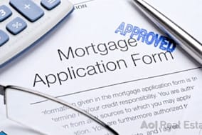 Mortgage application for AOL Real Estate