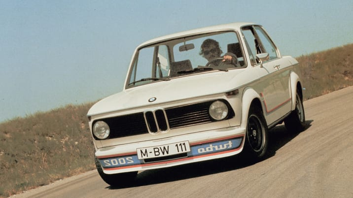 BMW 2002 Turbo front view