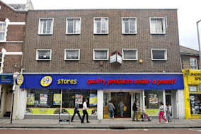 File photo dated 03/08/09 of a 99p store in Muswell Hill, London. The discount chain plans to ramp up expansion with another 70 shops over the next two years in a move set to create more than 2,000 retail jobs.PRESS ASSOCIATION Photo. Issue date: Monday August 3, 2009. See PA story CITY 99pStores. Photo credit should read: Johnny Green/PA Wire