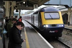 london   oct 8  a train pulls...