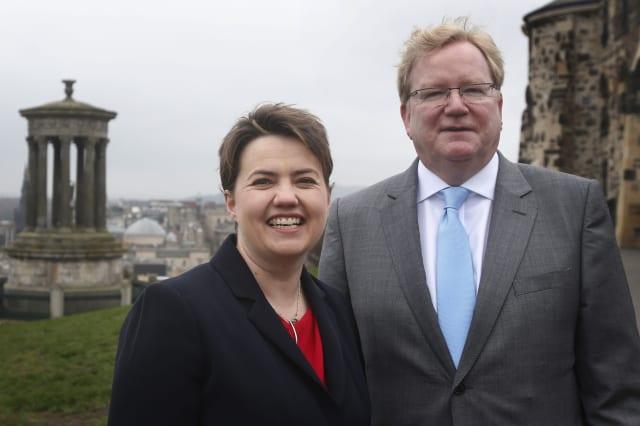 Scottish Conservative Party conference - Edinburgh