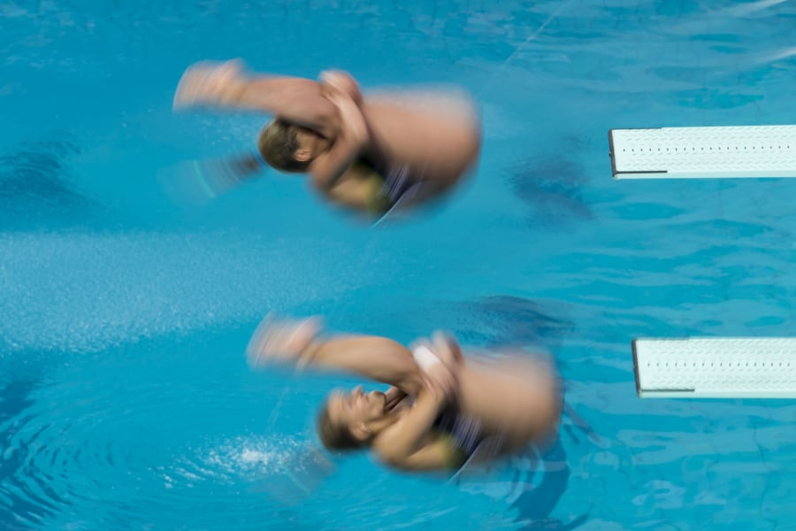 Maddison Keeney and Anabelle Smith spun their way to a bronze