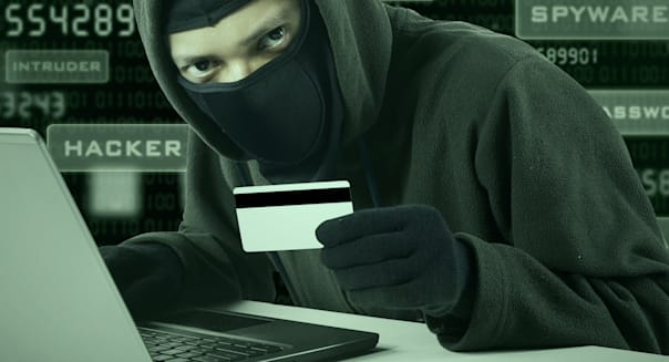 internet theft   a man wearing...