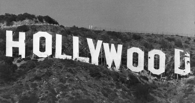 Hollywood Sign 1977
