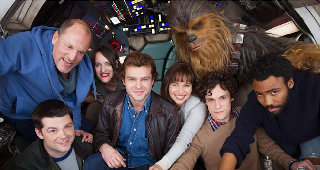 Here's the First Cast Photo From the Han Solo Movie