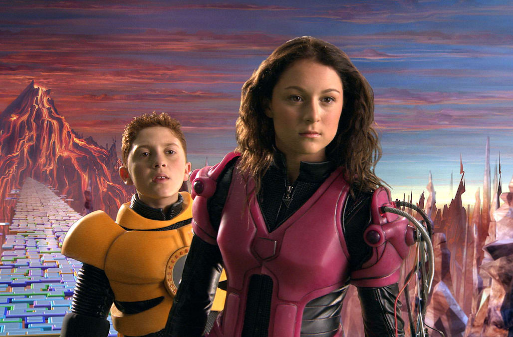 DARYL SABARA & ALEXA VEGA SPY KIDS 3-D: GAME OVER; SPY KIDS 3D (2003)