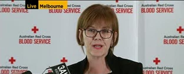Red Cross CEO Shelly Park Addresses the