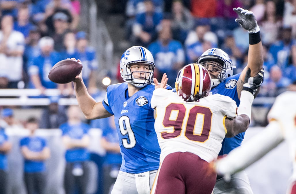 NFL: OCT 23 Redskins at Lions
