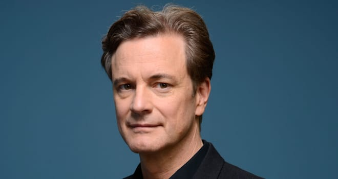 Colin Firth's 'Railway Man' Portraits at the 2013 Toronto International Film Festival