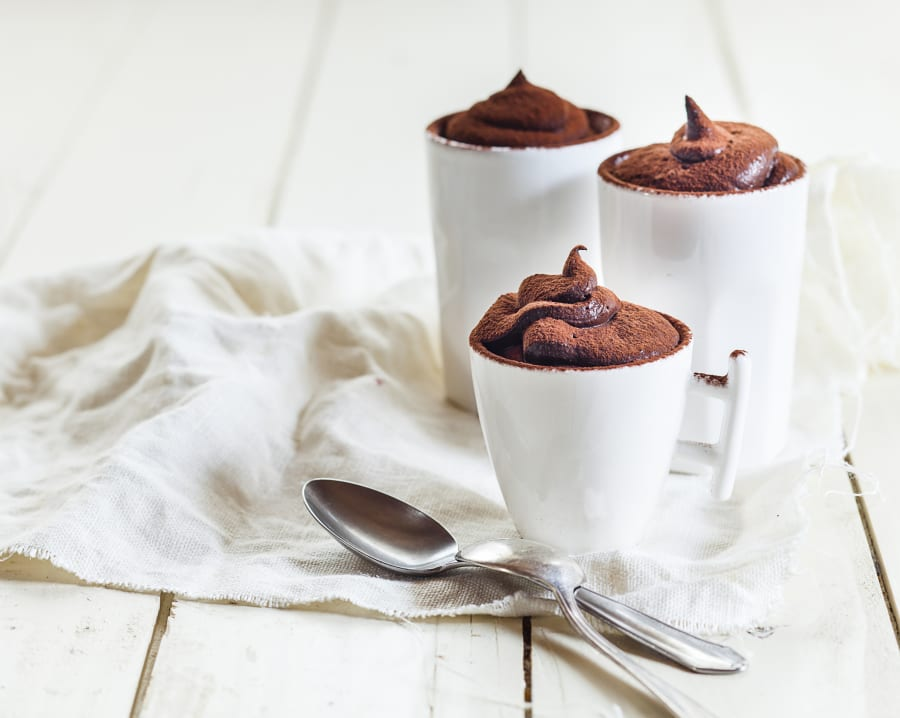 Rich, creamy and chocolatey. The holy