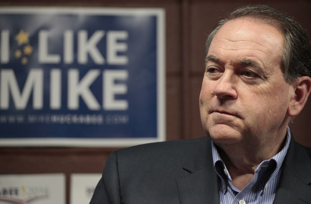 USA-ELECTION/HUCKABEE